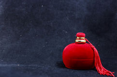 Geschenkbox für Ringe Lizenzfreie Stockfotografie