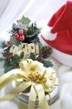 Geschenkbox für Weihnachten Stockfotografie