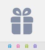 Geschenkbox - Granit-Ikonen vektor abbildung