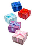 Geschenkbox lokalisiert Stockfotos