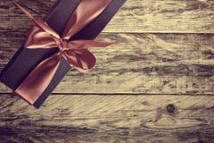 Geschenkbox mit Band Lizenzfreie Stockfotos