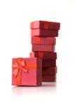 Geschenkboxen Lizenzfreie Stockfotografie