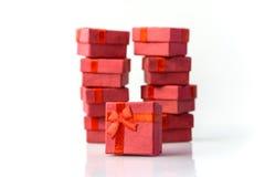 Geschenkboxen Lizenzfreies Stockfoto