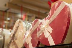 Geschenkboxen für Weihnachten und neues Jahr Lizenzfreies Stockfoto