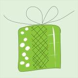 Geschenkboxikone Lizenzfreies Stockfoto