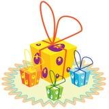 Geschenke Lizenzfreies Stockfoto