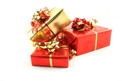 Geschenke Stockbild