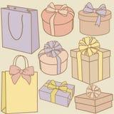 Geschenke Stockfoto