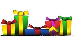Geschenke Lizenzfreie Stockfotos