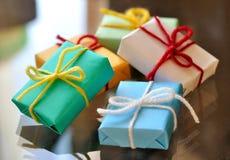 Geschenke Stockfotos
