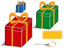 Geschenke auf Saisonverkauf vektor abbildung