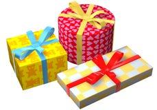 Geschenke Bauch Lizenzfreie Stockbilder