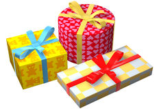 Geschenke bunt Royalty Free Stock Images