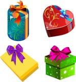 Geschenke für Feiertage Lizenzfreie Stockfotografie