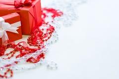 Geschenke für schönen anwesenden Dekor der Mädchen Stockfotografie