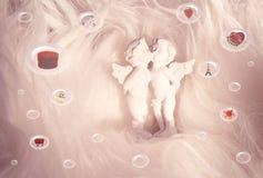 Geschenke für St.-Valentinsgruß Lizenzfreie Stockbilder