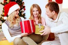 Geschenke für Tochter Stockbild