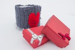 Geschenke für Valentine Day Stockbilder