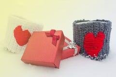 Geschenke für Valentinsgruß-Tag Stockfoto