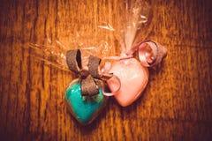 Geschenke für Valentinstag Stockfoto