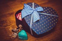 Geschenke für Valentinstag Lizenzfreies Stockbild