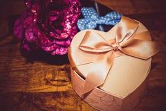 Geschenke für Valentinstag Lizenzfreie Stockbilder