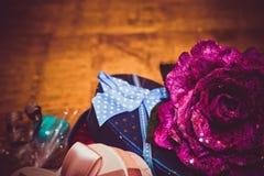 Geschenke für Valentinstag Stockfotografie