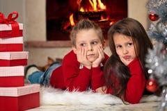 Geschenke für Weihnachten lizenzfreies stockbild