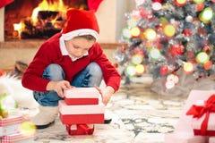 Geschenke für Weihnachten lizenzfreie stockfotos