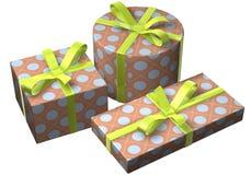 Geschenke Retro- Lizenzfreies Stockbild