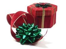 Geschenke und Zutaten stockfotografie