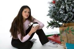 Geschenke unter dem Baum Lizenzfreie Stockfotos