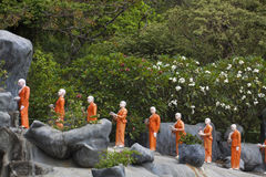 Geschenke zu Buddha Lizenzfreie Stockfotos