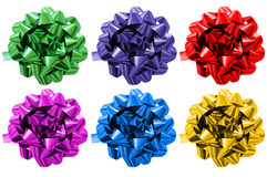 Geschenkfarbbänder Stockbild