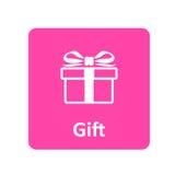 Geschenkikone für Netz und Mobile Stockbilder