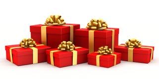 Geschenkkästen. Lizenzfreie Stockbilder
