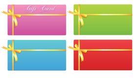 Geschenkkarte vektor abbildung