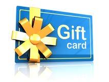 Geschenkkarte Stockbilder