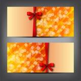 Geschenkkarte Lizenzfreie Stockfotos