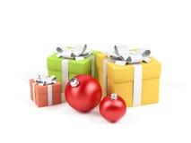 Geschenkkasten. Lizenzfreie Stockfotos