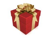 Geschenkkasten. Bild 3D. Stockbilder