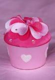 Geschenkkasten des Valentinsgrußes Stockfoto