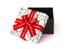 Geschenkkasten für Schatz Lizenzfreie Stockfotos