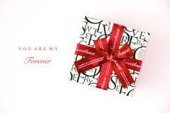 Geschenkkasten für Schatz Lizenzfreies Stockfoto