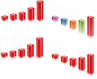 Geschenkkasten und -beutel Lizenzfreies Stockfoto