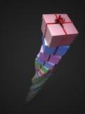 Geschenkkontrollturm vektor abbildung