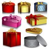 Geschenkkästen Stockfoto