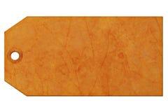 Geschenkmarke Stockbild