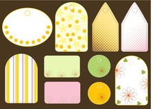 Geschenkmarken Stockbilder