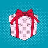 Geschenkpop-arten-Retrostil Lizenzfreie Stockbilder